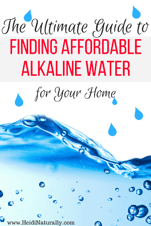Best Alkaline Water