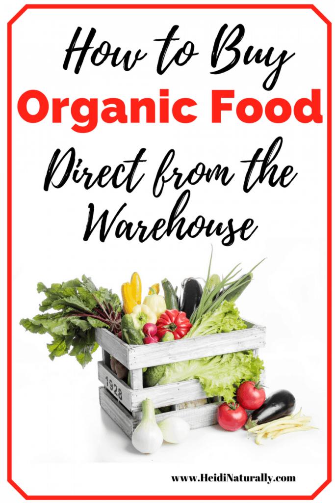buy organic food