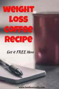 Chocolate weight loss coffee