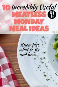 meatless meal ideas