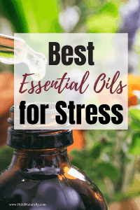 Essential Oils for Stress