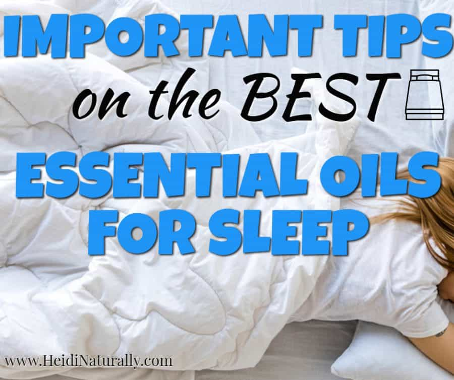 How to Find the Best Essential Oils for Good Sleep