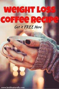 Weight loss coffee recipe