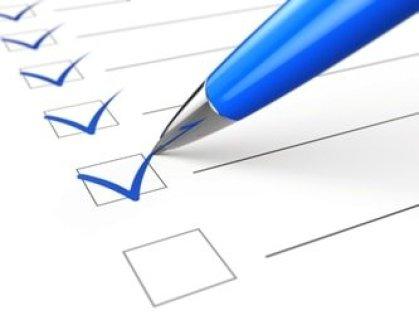 checklist pen