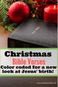 Christmas Bible verses printable