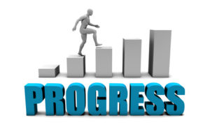 Don't let lack of progress get the better of you