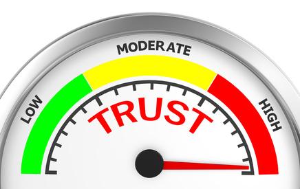 are you establishing trust