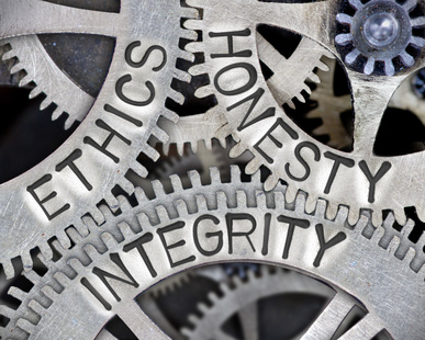 does your business act with integrity?