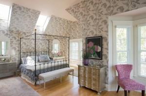 Master Bedroom by Interior Designer Boston & Cambridge, Heidi Pribell