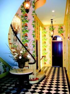 Entry Foyer by Interior Designer Boston & Cambridge, Heidi Pribell