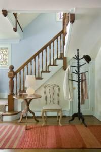 Entry Stairway by Interior Designer Boston & Cambridge, Heidi Pribell