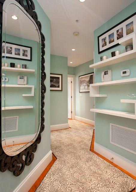 Hallway by Interior Designer Boston & Cambridge, Heidi Pribell