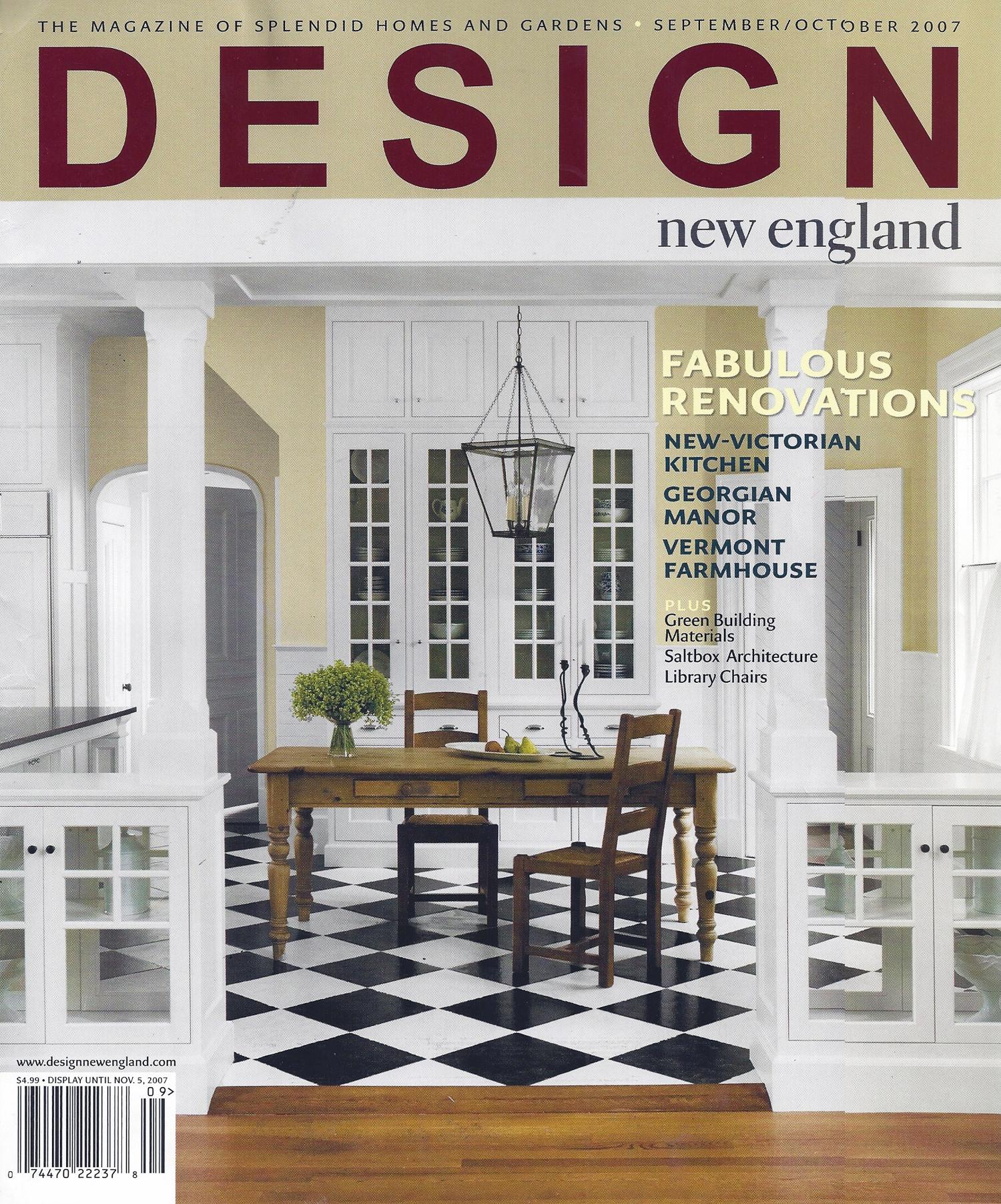 Design New England 2007 11 Cover