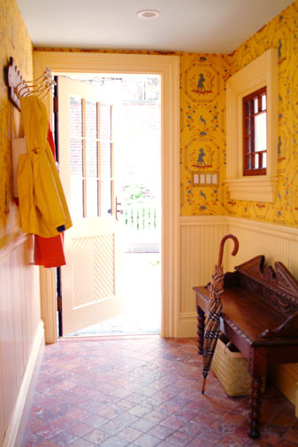 Entry Mudroom by Interior Designer Boston & Cambridge, Heidi Pribell