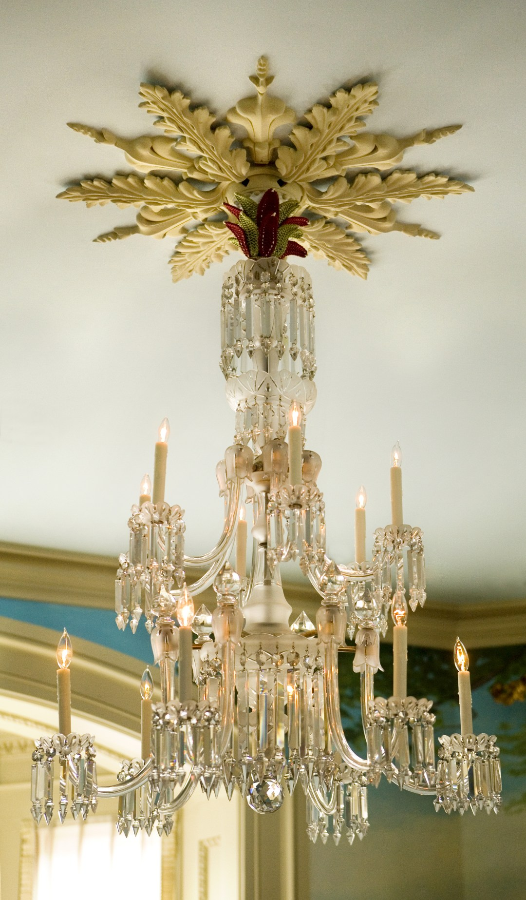 Heidi Pribell detail of chandelier