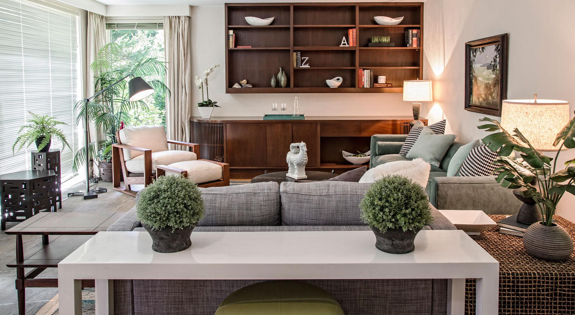 Heidi Pribell Interior Designer Boston Ma Living Room Table Plants Couch