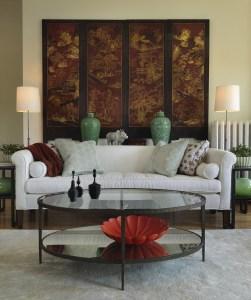 Living Room by Interior Designer Boston & Cambridge, Heidi Pribell