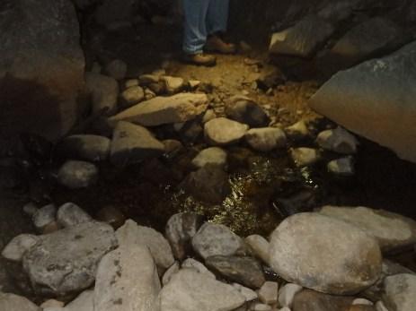 underground creek