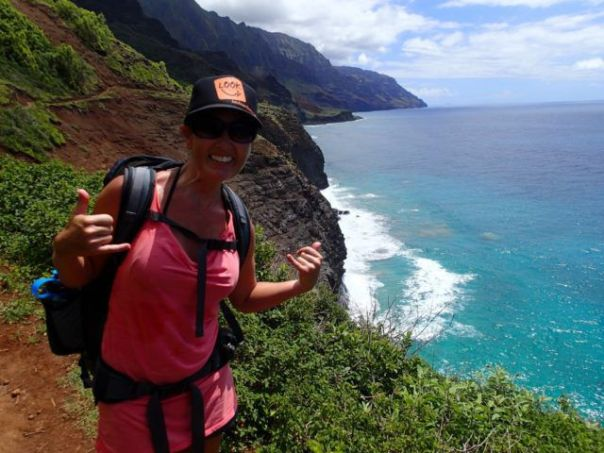 Heidi_Siefkas_on_hiking_North_Shore_Kauai