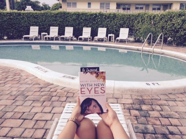 R&R in the sun with a great read - South Florida