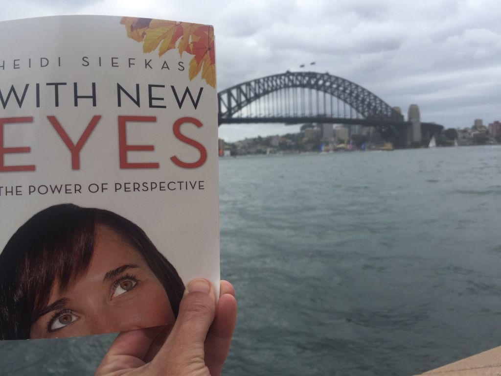 Author Climbs Sydney Bridge to Demonstrate Why Adventure is Her Meditation
