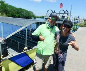 Heidi_Siefkas_and_Baby_Face_Everglades_Holiday_Park