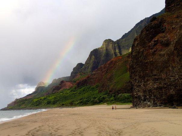 Kalalau_Beach_Kauai_Rainbow_by_Heidi_Siefkas