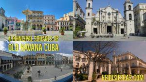 Four_Squares_of_Old_Havana_Cuba