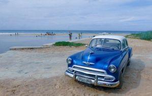 Playas_del_Este_Havana_Cuba_with_Classic_Car_Cuba