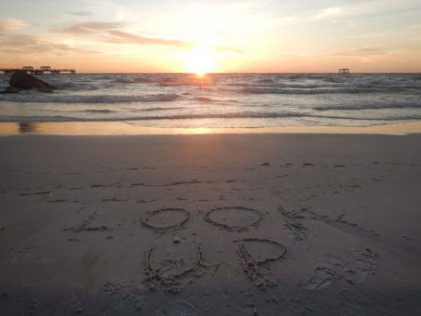 Look_Up_Mantra_and_Sunset_Fort_DeSoto_Florida