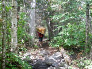 Portaging_Canoe_BWCA_Minnesota