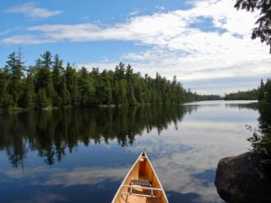 Canoe_and_Horsehoe_Lake_Boundary_Waters_Canoe_Area_Minnesota