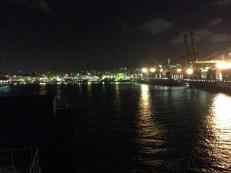 Im Hafen von Singapur
