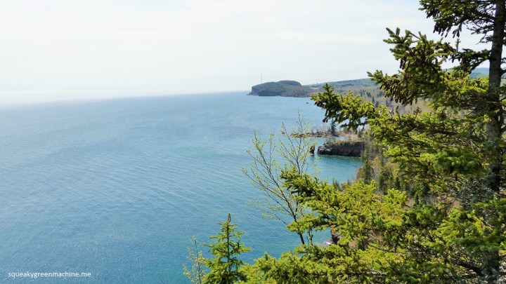 a view of lake superior from tettegouche