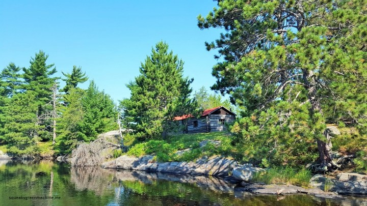 historic kettle falls cabin