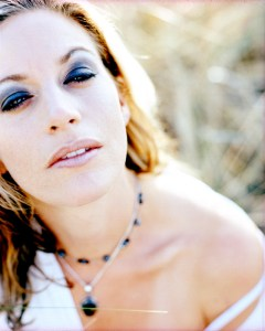 Heidi sitting in grass