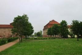 Das abgetragene Schloss zu Faulenrost mit seinen Nebengebäuden