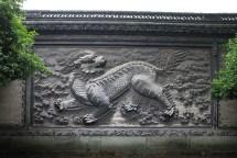 Das Qilin im Tianyige-Museum wird von allen bewundert.