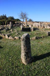 """Li Muri: Eine Grabanlage bescheidener Art, für die die Bezeichnung """"Nekropole"""" irgendwie übertrieben wirkt."""