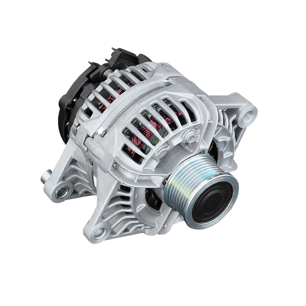 hight resolution of dodge cummins one wire alternator with decoupler pulley