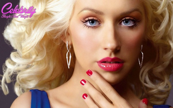 Christina Aguilera Measurements Height And Weight