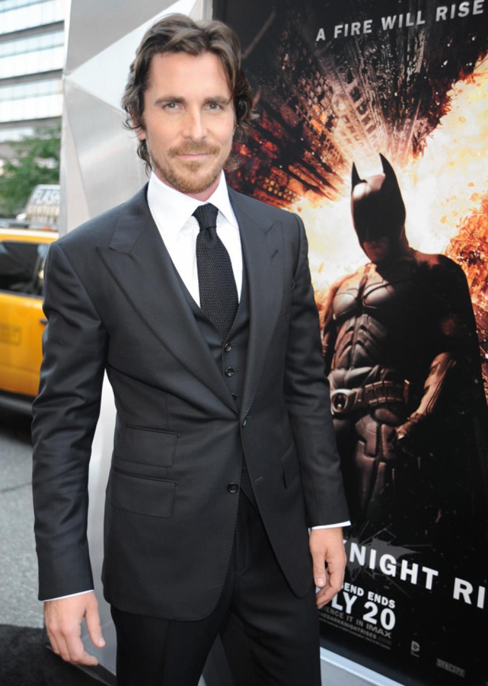 Wayne How Bruce Tall