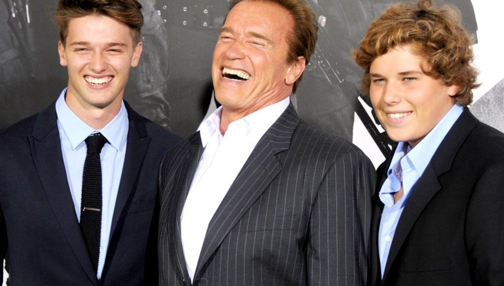 Arnold Schwarzenegger's children dp