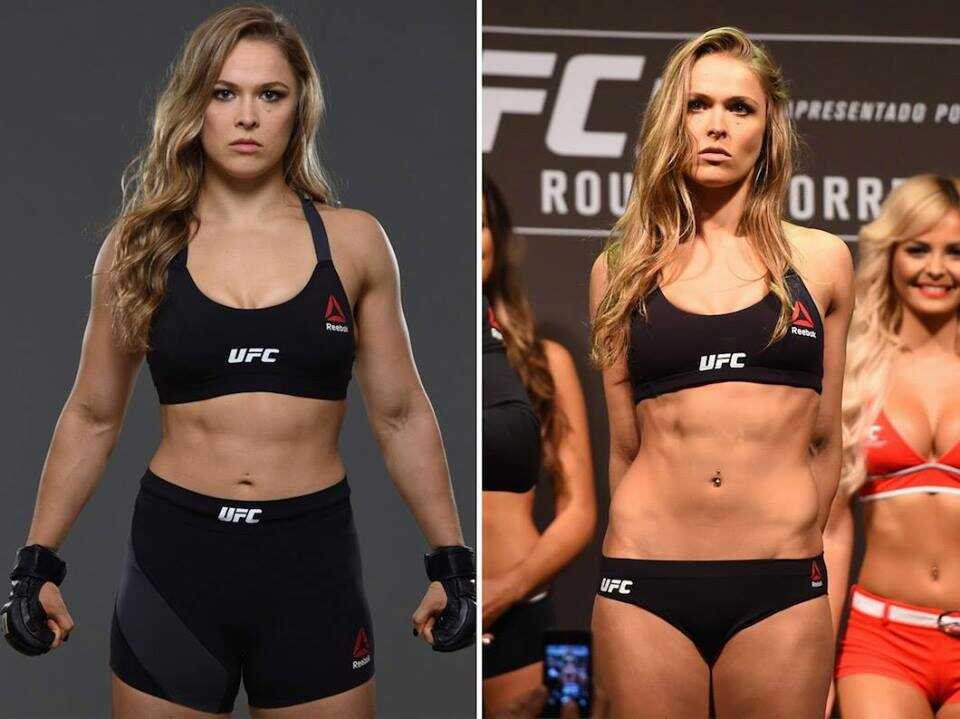 Ronda Rousey's height 5