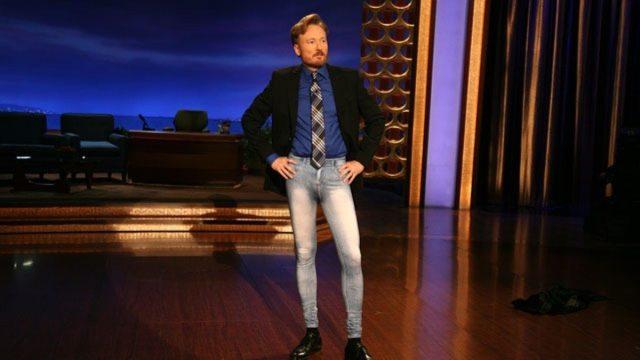 Conan O'Brien's height 5