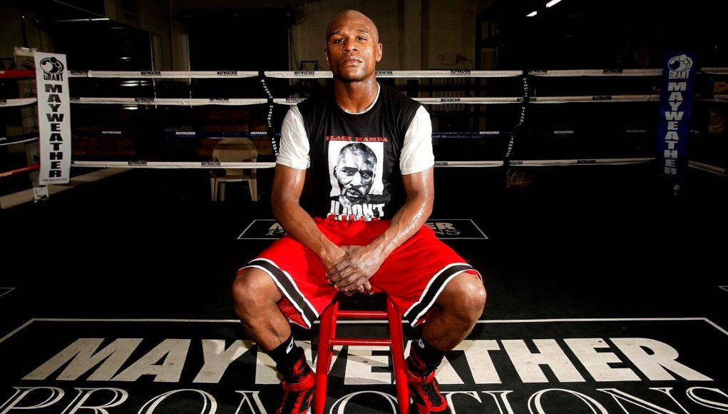 Floyd Mayweather's height dp