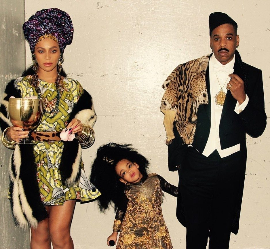 Beyonce and Jay z halloween 2015
