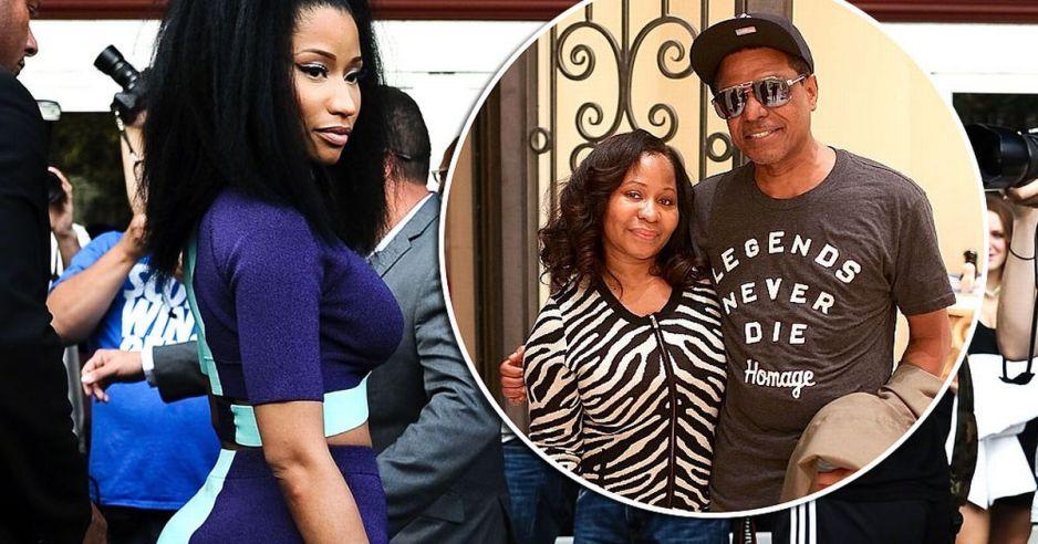 Nicki Minaj And Parents