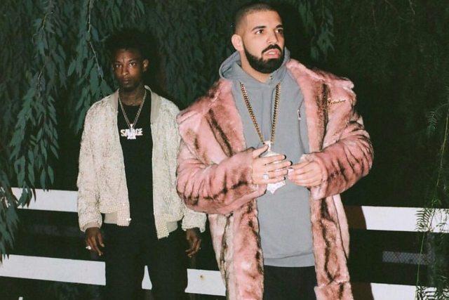 21 Savage and Drake