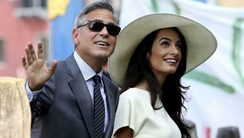 George Clooney's wife dp